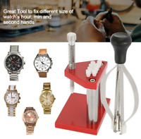 Watch Hand Remover Plunger Puller Fitting Presser Kit Watch Repair Tools Kits