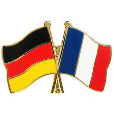 Freundschaftspin Deutschland - Frankreich Anstecker Anstecknadel Fahne