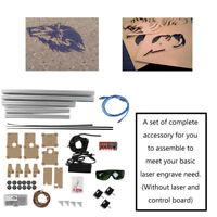 Set Accesorios para Sobremesa DIY Láser Máquina de Grabado CNC Impresora CN Plug