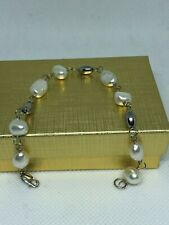 Sterling bracelet Pearl and