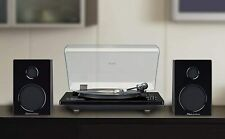 Studebaker Hi-Fi Record Player Turntable with Audio Technica Home Music System