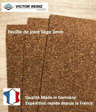 Feuille de liege 3mm pour joint moteur. Cork Gasket Material for Sealing