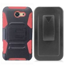 Samsung J3 Emerge / Belt Clip Holster Case (4 cases for $21.99) Free S