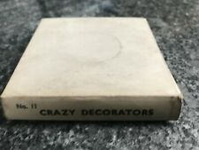 8mm Vintage Movie Film no 11 Crazy Decoradores