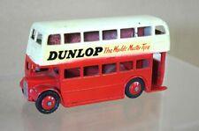 DINKY 290 LONDRA TRASPORTO AUTOBUS A DUE PIANI DUNLOP RESTAURATO mv