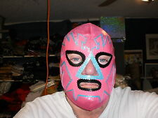 The Pink Flash Pro Wrestling Mask