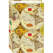 New Pioneer Stc-504 3-Ring Pocket Photo Album 4x6 World Map - Holds 504 Photos