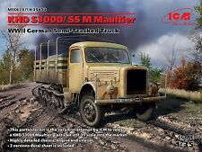 ICM 1/35 KHD S3000/SS M Maultier WWII German Semi-Tracked Truck # 35453