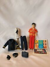 Vintage 1970s Topper Toys Dawn Doll - Gary w/ Up Up And Away Pilot Uniform