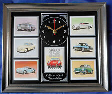 Porsche 1950-65 Stunning Collector Cards Wall Clock