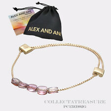 Authentic Alex and Ani Crystal Infusion Antique Pink Swarovski Crystal Bracelet