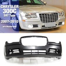 SRT Type Front Bumper Molding w/o Washer Hole For CHRYSLER 2007-2010 300C