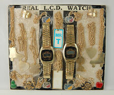 VIntage Coin Op 25 Cent Toy Machine Pirze Card LCD Watches Mr. T Necklaces Charm