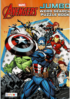 Marvel, Avengers, Jumbo word search activity book, NEW, by bendon FREE Shipping!