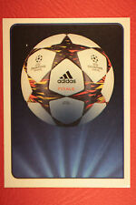 PANINI CHAMPIONS LEAGUE 2014/15 N. 3 THE BALL BLACK BACK MINT!