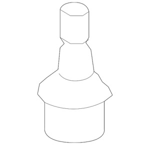 Genuine Ford Lower Ball Joint 8C2Z-3050-A