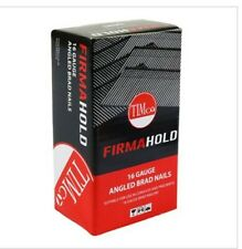 Timco FirmaHold 16 Gauge angle Brad nails (Second fix) 16G X 32MM Box of 2000