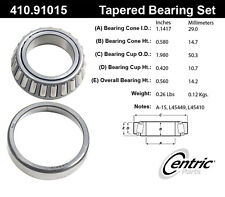 Centric Parts 410.91015E Rear Inner Bearing Set