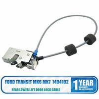 Ford Transit MK6&7 00-15 Posteriore Inferiore Sinistro Serratura Cavo/ Fermo