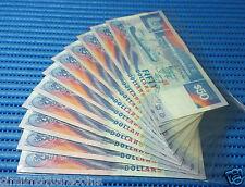 Singapore Ship Series $50 Note Original Series (Price Per Piece. Random Numbers)