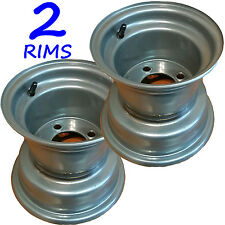 "8"" RIMs WHEELs for Riding Lawn Mower Garden Tractor Go Kart Golf Cart 8x7 4/4"