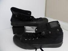 Levi Strauss Co. Canvas High Top Basketball Shoes Black Sz 6.5