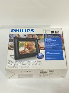 """Philips 8FF2FPB 8"""" Digital Picture Frame New"""