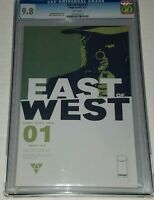 East of West #1 CGC 9.8 NM/MT White Pages Image 2013 Hickman Dragotta