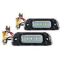 LED License Plate Light Housing SET for Mercedes W164 W251 GL J4K4