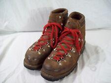 Men's MT10 Olimpiadi Trekking Boots Vibram Montagna Block Soles Size 7 Italy
