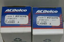 2- 10041073 Turn Signal Lamp Flasher ACDelco GM NOS OEM SF323YB, Set Of 2 `