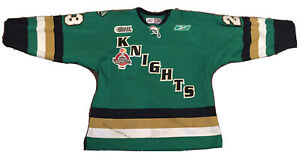 GAME WORN HOCKEY OHL LONDON KNIGHTS 2004-05 MEMORIAL CUP