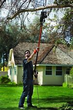 Electric Chainsaw Long Reach Pole Saw Combo Tree Trimmer Pruner Gardening Tool