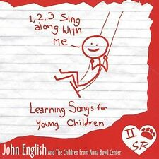 1, 2, 3, Sing Along With Me - Learning Songs for Young Children CD NEW