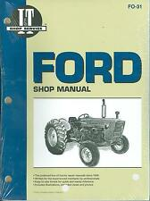 1965 66 67 68 69 70 71 72 73 74 75  FORD TRACTOR  SHOP MANUAL-2000 3000 4000