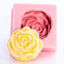 Cabbage Rose Silicone Mold Sugarcraft Gumpaste Chocolate Metal Clay Resin (532)