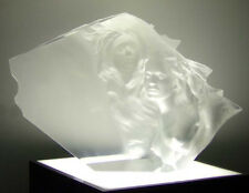 "Frederick Hart ""Counterpoint"" Lucite Acrylic sculpture Hand Signed Beautiful!!"