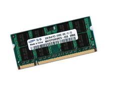 2gb ddr2 memoria RAM Toshiba satellite l300 l300d l350