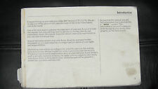 New listing Honda Acura 1997 2.5 Tl/3.2 Tl Owners Manual