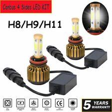 4Side H11 H8 H9 Canbus LED Headlight Kit Fog Lights Bulbs 2150000LM 6000K Lights