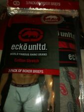 Mens Ecko 3 Pack of Boxer Briefs Assorted Colors various Sizes