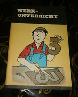 DDR +  Schulbuch + Werkunterricht   3. Klasse +  + 1988  Werken   Klasse 3