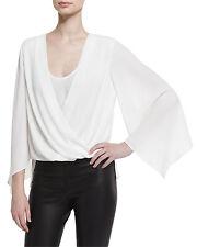 BCBGMaxazria top blouse bell sleeve $158