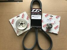 "ZZP 2005-07 Chevy Cobalt 2.0 SS Ion LSJ Supercharger 3.0"" Pulley System + Belt"