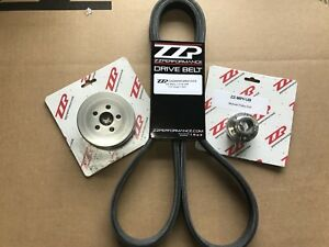 """ZZP 2005-07 Chevy Cobalt 2.0 SS Ion LSJ Supercharger 2.8"""" Pulley System + Belt"""