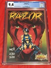 RAZOR 1 CGC 9.4 London Night Thomas O'Connor Tim Tyler 1992