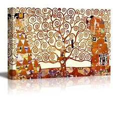 "Wall26 - ""Tree of Life"" by Gustav Klimt - Canvas Art Home Decor - 16x24 inches"