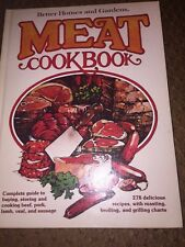 1977 -MEAT-Better Homes & Gardens Meat Cookbook  278 Recipes Free Shipping
