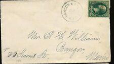 1870's Bangor & Boston Rpo Cover to Bangor
