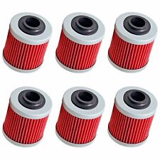 6-Pack Oil Filter Filters for Can-Am DS450 DS450X DS 450 X EFI MX XC All Models